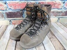 Vtg Lowa Leather Hiking Boots Mens 11 Vibram Germany Mountaineering Shoes