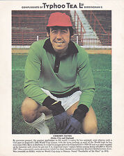 Gordon Banks, Stoke City & England, vintage 1970's Typhoo Tea card. Rare.