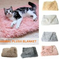 Large Soft Warm Fleece Pet Blanket Dog Cat Mat Puppy Plush Cushion Bed Sofa Pad