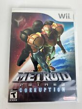 Metroid Prime 3 Corruption Nintendo Wii Video Game Complete Tested CIB