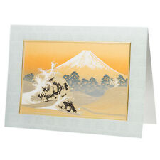 ORO GRANDE Monte Fuji carta tradizionale giapponese