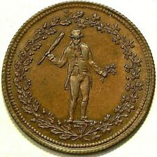 (1824) Thomas Halliday Colonial Token AM 4 Halfpenny #6729