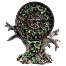 Astrology Tree Clock Signs Pentagrams Pagan Wicca Sabbat Fantasy