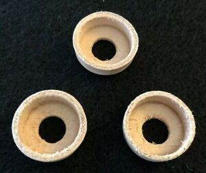 Three (3) Coleman (same as part #216-5091) - Leather Pump Cups