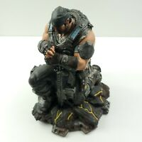 "Gears of War 3 Marcus Fenix Statue Figure -  11"" Tall"