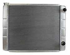 "Aluminum Radiator GM Chevy 26"" x 19"" Double Pass Style Race Pro"