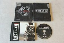 Days Gone PS4 Collector's Limited Edition Steelbook + Soundtrack + Artbook