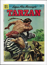 "TARZAN #71  [1955 GD-VG]  ""THE PLAGUE OF LIONS"""