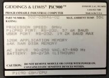 GIDDINGS & LEWIS : CSM/CPU : 8 MHz : 128K AppMem;64K RAM;RS-232 # 502-03846-02