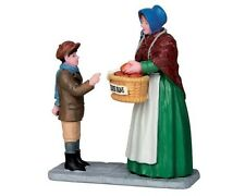 New Lemax Figurines Hot Cross Buns Vendor 52342  Polyresin New 2015
