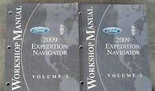 2009 Ford Expedition & Lincoln Navigator Repair Service Shop Manual Set 2 Volume