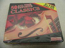 50 ALL TIME FAVORITE CLASSICS - 2 + 1 CD BONUS PACK!
