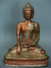 Buddha Kupfer mit Messing