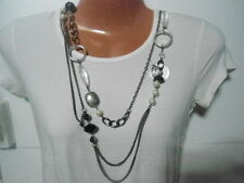 Designer LANE BRYANT Long Pearl Beaded Necklace Jewelry Collection $24.5
