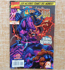 Comic, Los 4 Fantásticos, nº 12, Marvel Comics, Forum, Jim Lee, Stan Lee, 1998