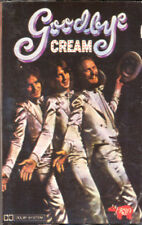 CREAM Goodbye Cream  (Eric Clapton) COMPACT CASSETTE