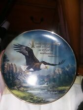 """Franklin Mint Ted Blaylock """"I heard an Eagle Calling"""". Mint condition"""