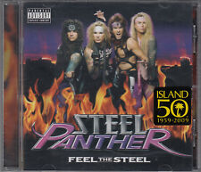 Steel Panther : Feel the Steel Parental Advisory CD FASTPOST
