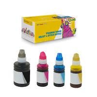 1Set Compatible T512 Black Cyan Magenta Yellow Ink Bottles for Epson L4150 L4160
