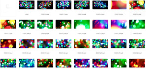 117 Christmas Footage Videos | Abstract Backgrounds | Download | Ultra HD 4K
