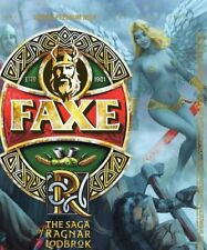 Faxe beer can. Exclusive series The Saga of Ragnar Lodbrok #5. Bottom open LE.