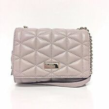 Kate Spade Eliza Emery Court Class Shoulder Bag Mousse Frosting Leather WKRU3909