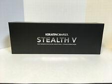 Keratin Complex Stealth V Titanium Digital Smoothing Straightening Flat Iron