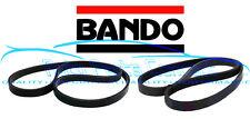 DRIVE BELTS FOR NISSAN SR20DET S13 ALTERNATOR POWER STEERING BELT BANDO
