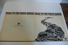 ROAD TO THE WHITE HOUSE. ELECTIONS AMERICAINES CONVENTIONS KENNEDY NIXON 2LP...