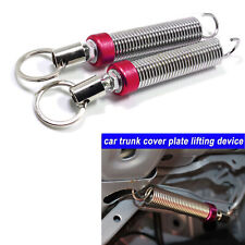 2pcs Red Adjustable Auto Car Trunk Boot Lid Automatic Lifting Spring Device Tool