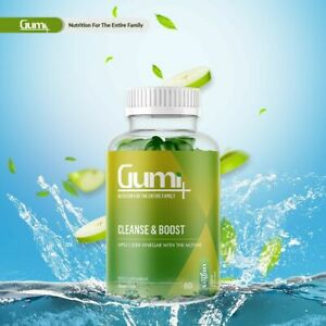 Vitamin Gumi Apple Cider Vinegar Cleanse And Boost Vegan Food Supplements UK