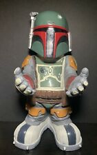 """Boba Fett 2011 Star Wars Rubies Candy Bowl Holder Statue 20"""" Tall Collectible"""