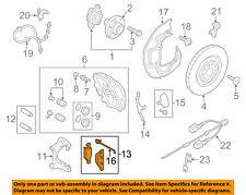 AUDI OEM 11-13 A8 Quattro Brake-Front Pads 4G0698151S