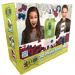 3D Print Shop Educational Toy - Make Create Customise Clone Repeat Molding IDO3D