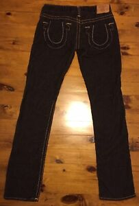 True Religion Womens Brown Corduroy Jeans Pants Early 2000s Made In USA