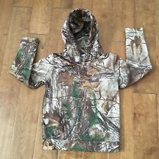 fe3bc01f0aa5e Redhead Camo Pullover Tech Hoodie Fleece lined Youth L (10-12) B82