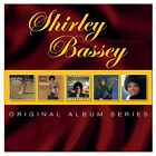 SHIRLEY BASSEY - ORIGINAL ALBUM SERIES 5 CD NEU