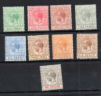 Bahamas KGV 1912-34 mint unchecked collection to 1/- WS19114