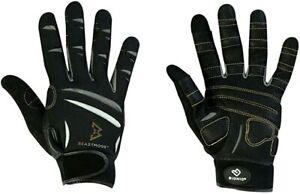New BIONIC Beast Mode Men's Full Finger Fitness/Lifting Gloves Md Black
