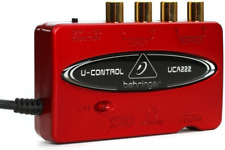 U-CONTROL USB Digital Audio Recording Interface with Optical Out