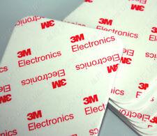 3M 75mm x 65mm x 2mm White Pad EVA Foam Adhesive Tape Double Coated Tissue