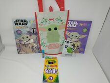 New Star Wars Mandalorian Stocking Baby Yoda Gift Set Fast Shipping Great Value
