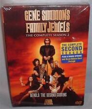 DVD Gene Simmons Family Jewels Season 2 COMPLETE 3 Disc BOX SET MINT