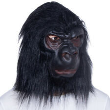 Gorilla Halloween Mask for adult costume party Realistic Ape Monkey Mask