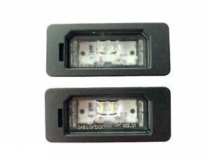 2X NEW ORIG. REGISTRATION LED LIGHTS BMW M2 F22 E90 F30 F10 GT F34 M4 X1 X3 X4