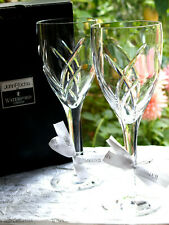 More details for waterford crystal signature goblet glass set of 2 design by john rocha 25cm new