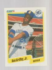 1990 Fleer #513 Ken Griffey Jr. card, Seattle Mariners HOF
