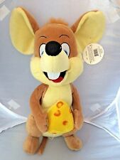 Paw Paw Pet Products Mouse with Cheese Puppy Dog Squeaky Stuffed Toy NEW Squeak