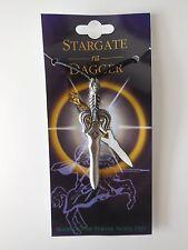 ADJUSTABLE PEWTER SWORD PENDANT NECKLACE - STARGATE ra DAGGER Approx 6.8cm