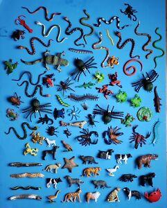 Lot Of 82 Toy Plastic Animal Figures
